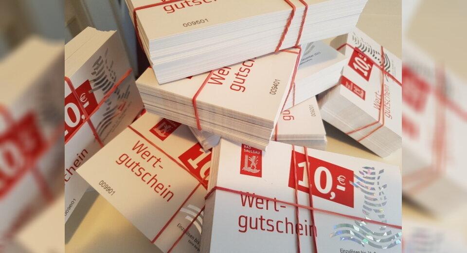 Bad Saulgauer Gutscheinaktion startet – insgesamt vier Verkaufstage