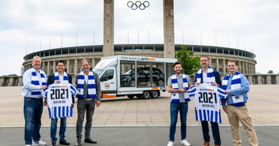 Hertha BSC Berlin hat ab Juli einen neuen Hauptsponsor