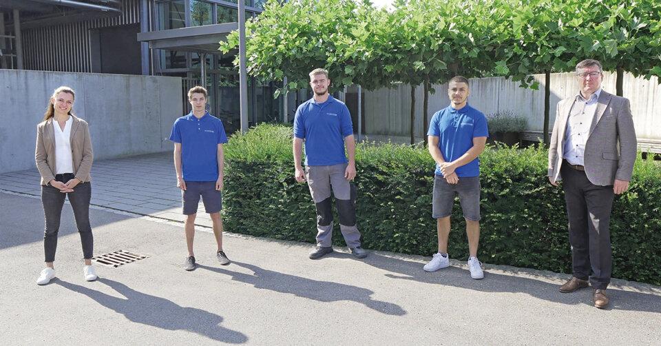 Siloanlagen Achberg übernimmt auch 2021 alle Auszubildenden
