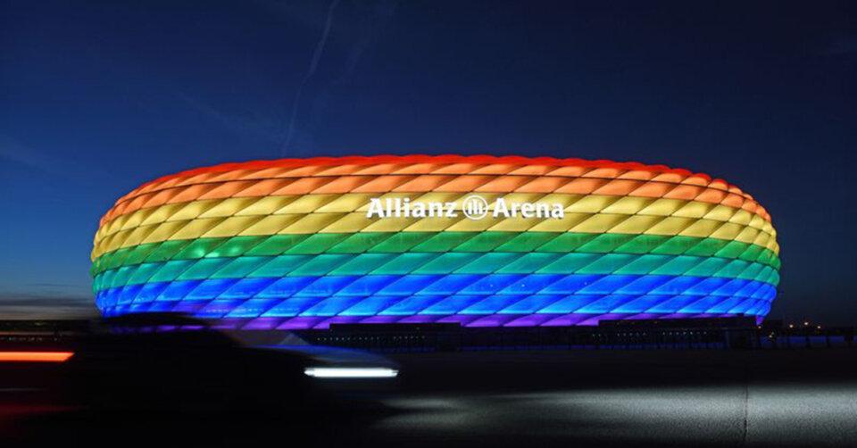 EM-Stadion in Regenbogenfarben? OB schreibt Brief an UEFA