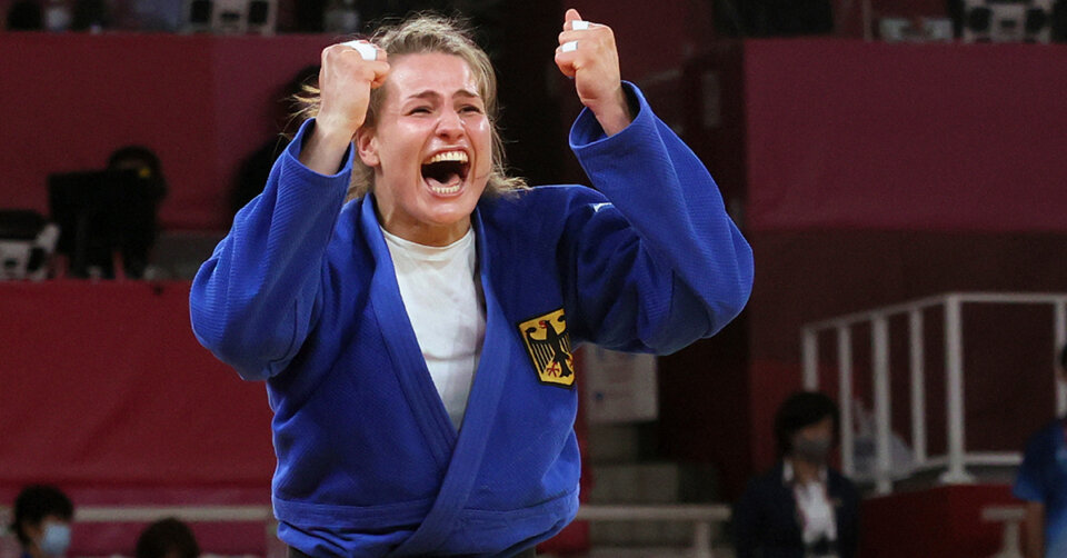 Anna-Maria Wagner erkämpft sich die Bronzemedaille