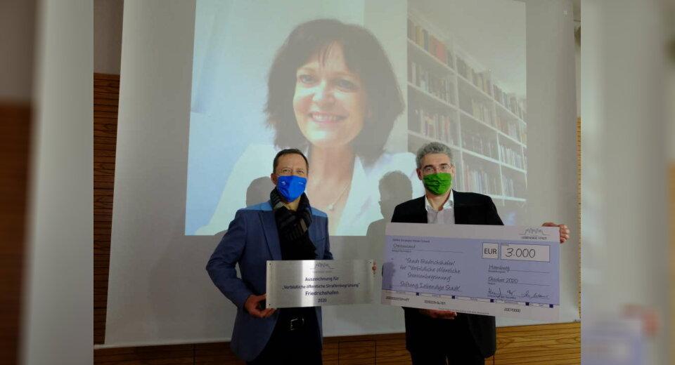 Friedrichshafen wird für vorbildliche Straßenbegrünung ausgezeichnet