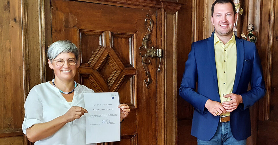 Neue Standesbeamtin in Reute-Gaisbeuren: Elke Kempter