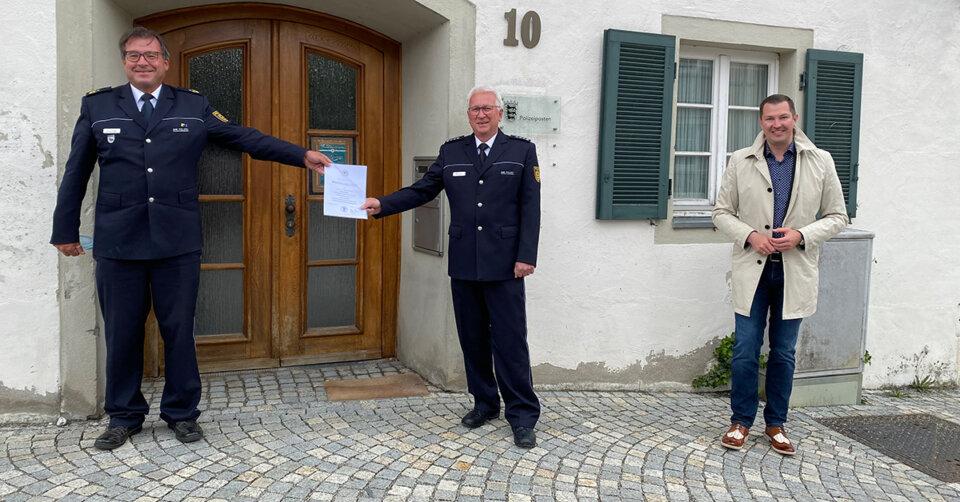 27 Jahre Leiter des Polizeipostens Bad Waldsee: Bernd Berger geht in den Ruhestand – Die Stadt dankt herzlich zum Abschied