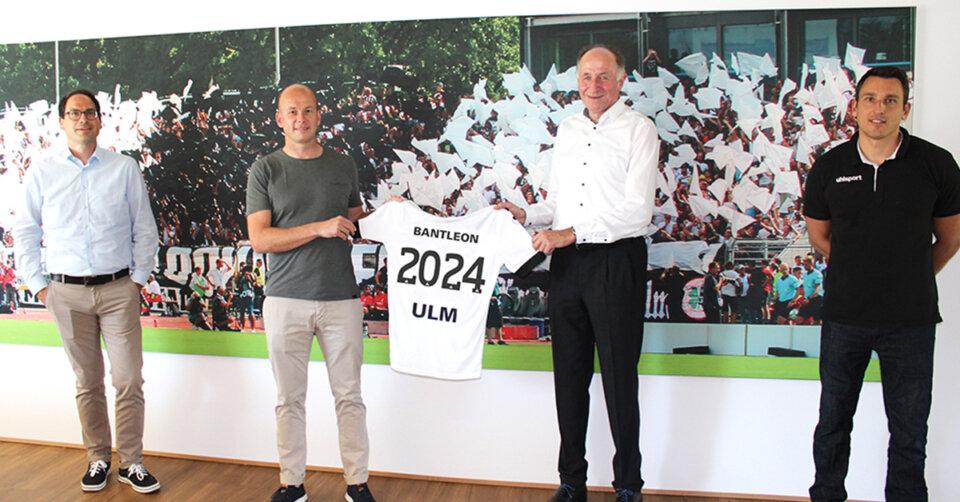 Bantleon und der SSV Ulm 1846 setzen ihre Partnerschaft fort