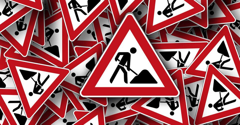 Fußgängerbrücken werden in der kommenden Woche erneuert