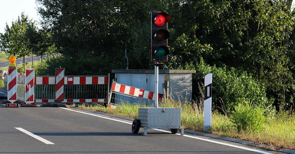 B 30-Brücke – Arbeiten beginnen erst am Montag