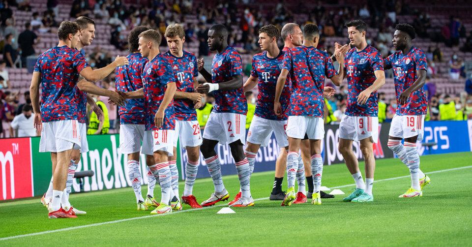 Der FC Bayern lässt in der Champions League die Muskeln spielen