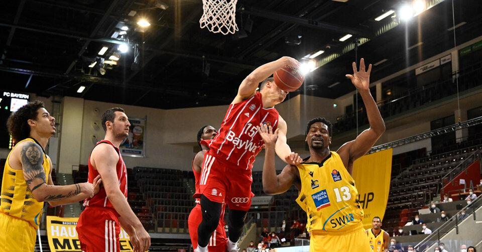 Bayerns Basketballer gleichen gegen Ludwigsburg aus