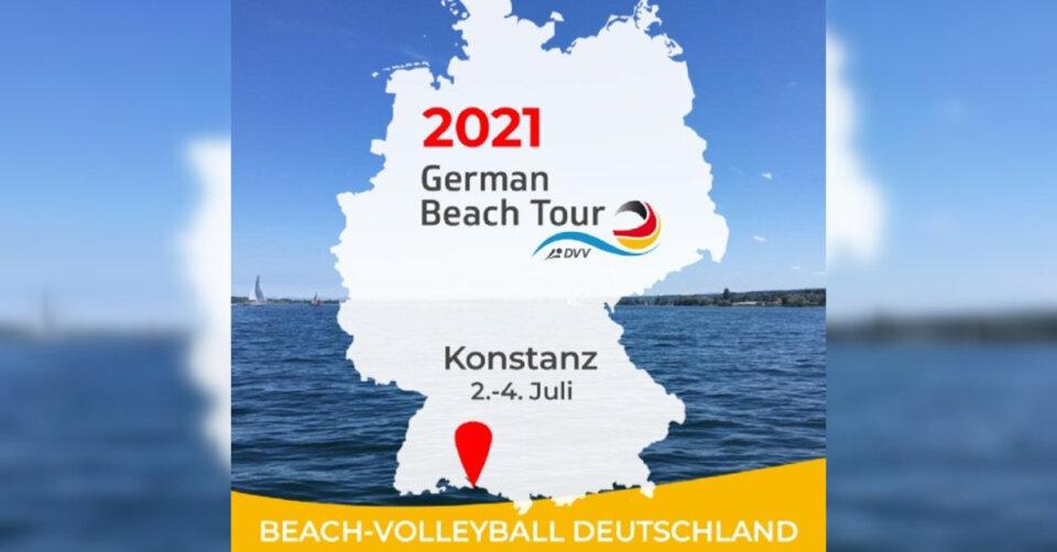 """Die """"German Beach Tour"""" in Konstanz muss ausfallen"""