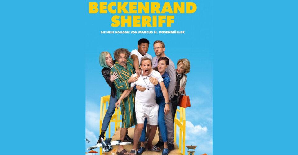 "Milan Peschel als grantiger ""Beckenrand Sheriff"""