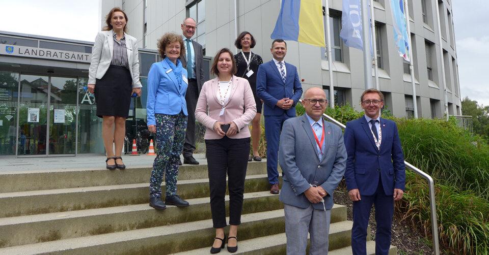 Kreispartnerschaft mit Tschenstochau: Polnische Delegation besucht Bodenseekreis