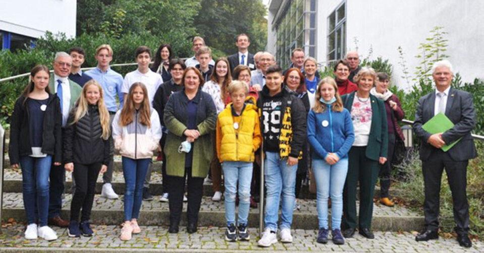 Schülerforschungszentrum Südwürttemberg – Besuch von Frau Ministerin Schopper am Standort Bad Saulgau