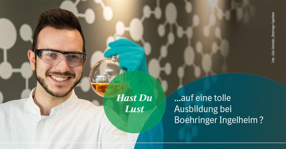 Ausbildung bei Boehringer Ingelheim – Gemeinsam für die Gesundheit von Mensch und Tier