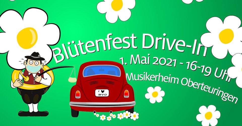 """Der Musikverein Oberteuringen veranstaltet """"Blütenfest-Drive-In"""""""