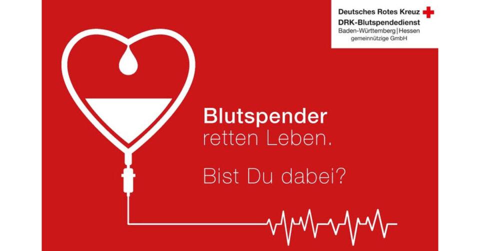 DRK-Blutspendeaktion am 30. April in Schemmerhofen