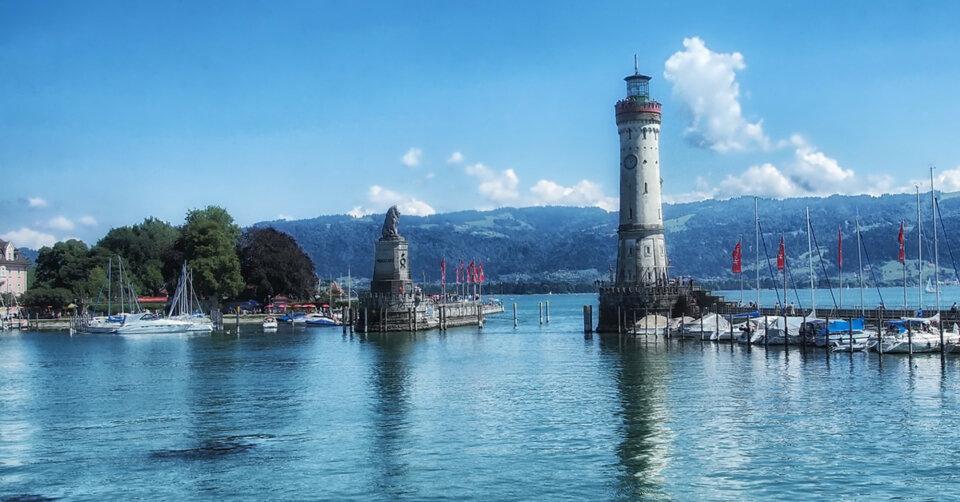 Bodensee erreicht erste Hochwassermeldestufe