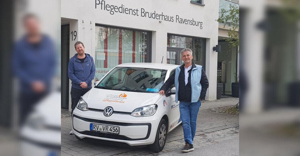 Spendenaufruf Pflegedienst Bruderhaus: Mit 50 Euro für 100 Euro Gutes tun
