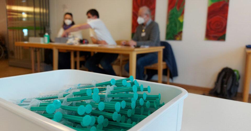 Im Bürgerheim Biberach: Corona-Impfstart