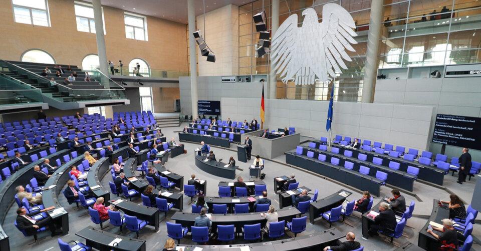 Bundestagswahl Umfrage: Union 4 Prozent vor Grünen