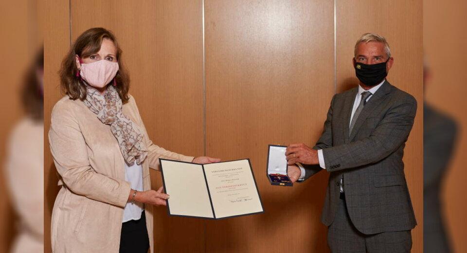 Bundesverdienstkreuz für Monica Wüllner
