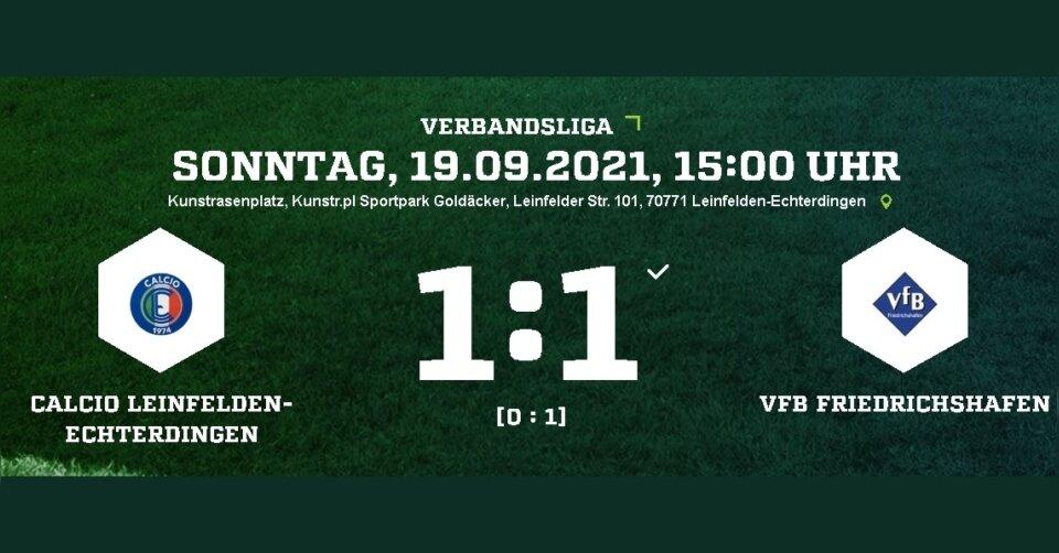 Die VfB-Fußballer verpassen den dritten Sieg in Serie