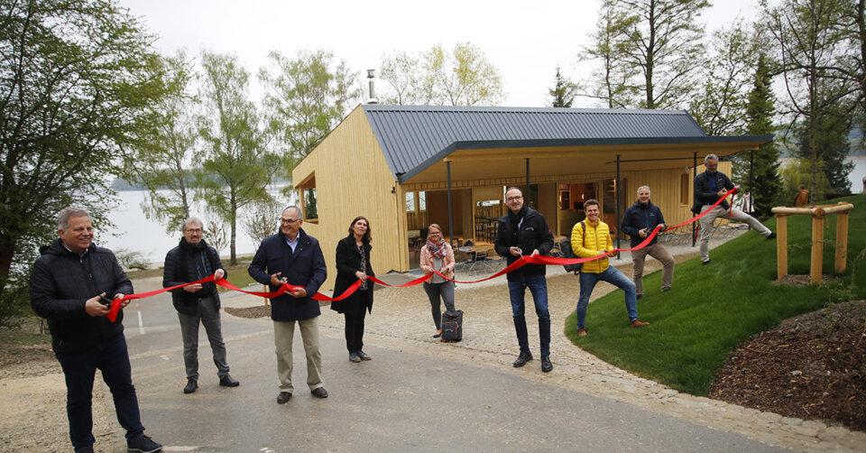 Neuer Naturcampingplatz mit Blick auf die Mainau eröffnet