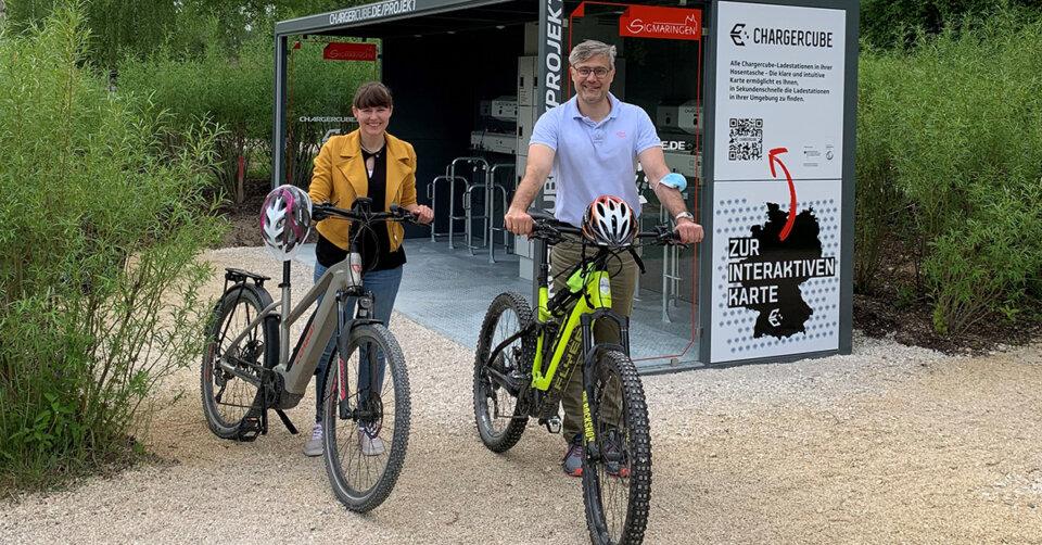 """""""Charger Cube"""" bietet weitere Lademöglichkeiten für E-Bikes"""