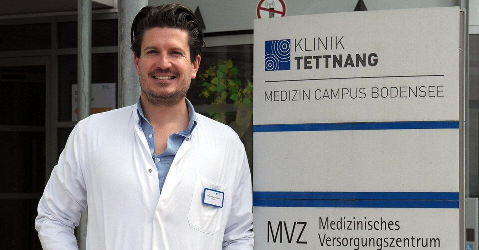 Christian Grasselli ist neuer Chefarzt für Unfallchirurgie, orthopädische Chirurgie und Endoprothetik