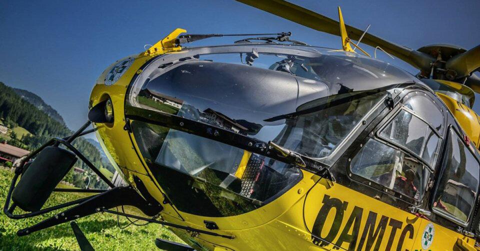 Spektakuläre Rettungsaktion bei der Hohen Kugel im Bregenzerwald