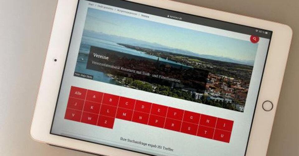 Neue Vereinsdatenbank ist online gegangen