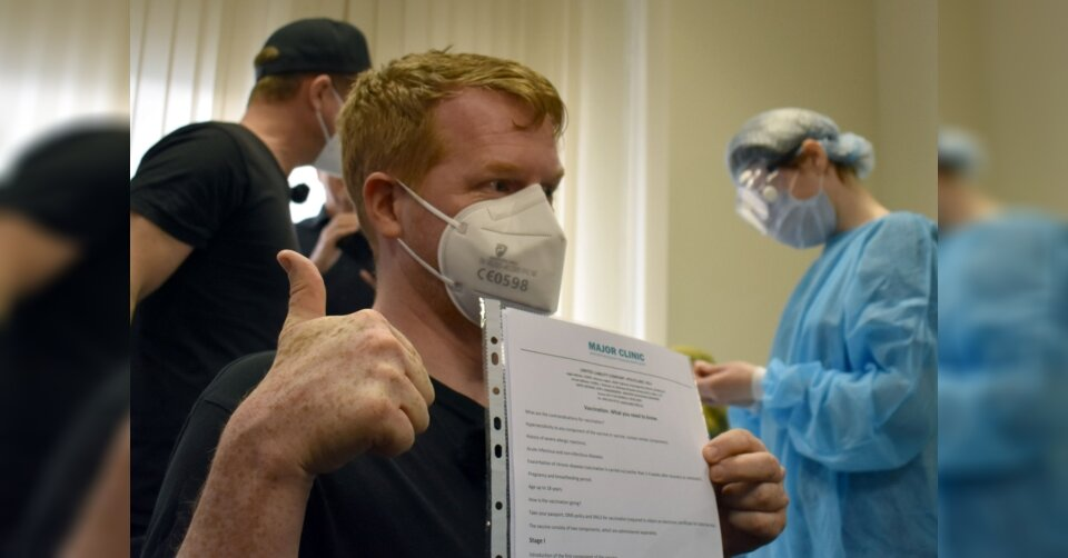 Deutsche lassen sich in Moskau gegen Corona impfen