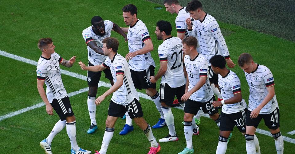 DFB-Elf hat nach furiosem 4:2 gegen Portugal das Achtelfinale vor Augen