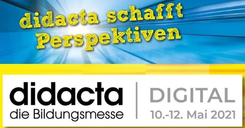 Das Event der Bildungsbranche: didacta 2021 (online)