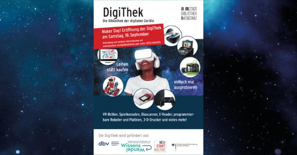 Stadtbibliothek widmet sich verstärkt digitalen Geräten