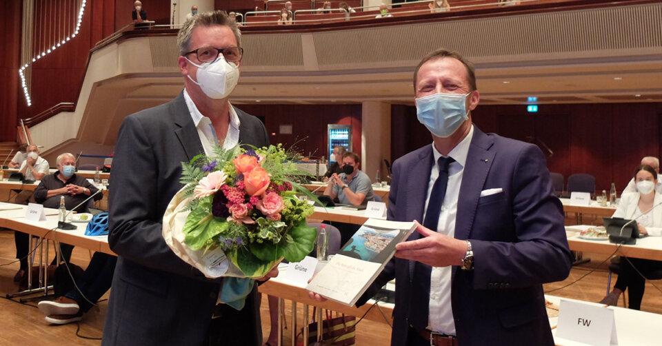 Gemeinderat: Daniel Oberschelp verabschiedet, Martin Eble rückt nach