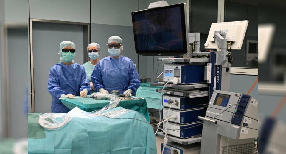 3-D-Brillen im Operationssaal