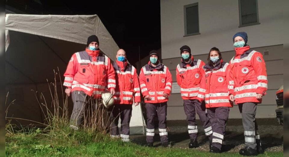 Sondereinsatz für die Einsatzgruppe Bereitschaft des DRK Aulendorf