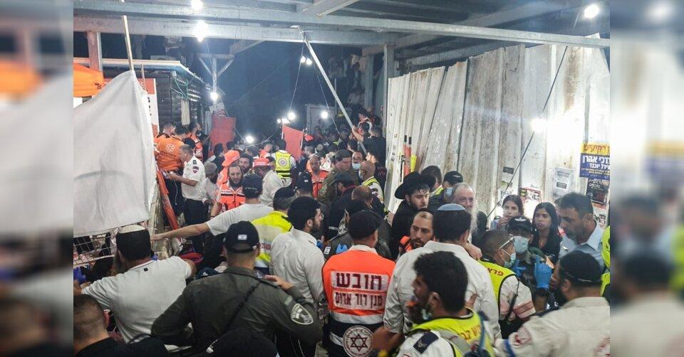 Dutzende Tote bei Massenpanik auf jüdischem Fest