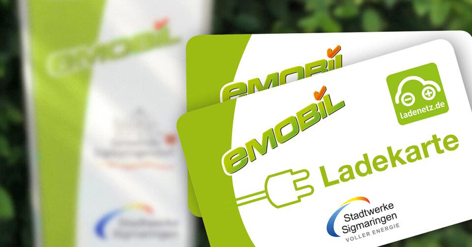 E-Ladekarten der Stadtwerke Sigmaringen für den deutschlandweiten Gebrauch ab sofort verfügbar
