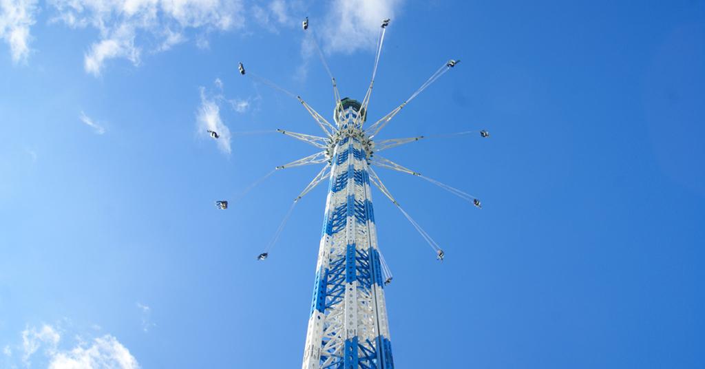 Der Allgäu Skyline Park bei Bad Wörishofen (Bahnhalt Rammingen) ist ein beliebter Freizeitpark für Jung und Alt