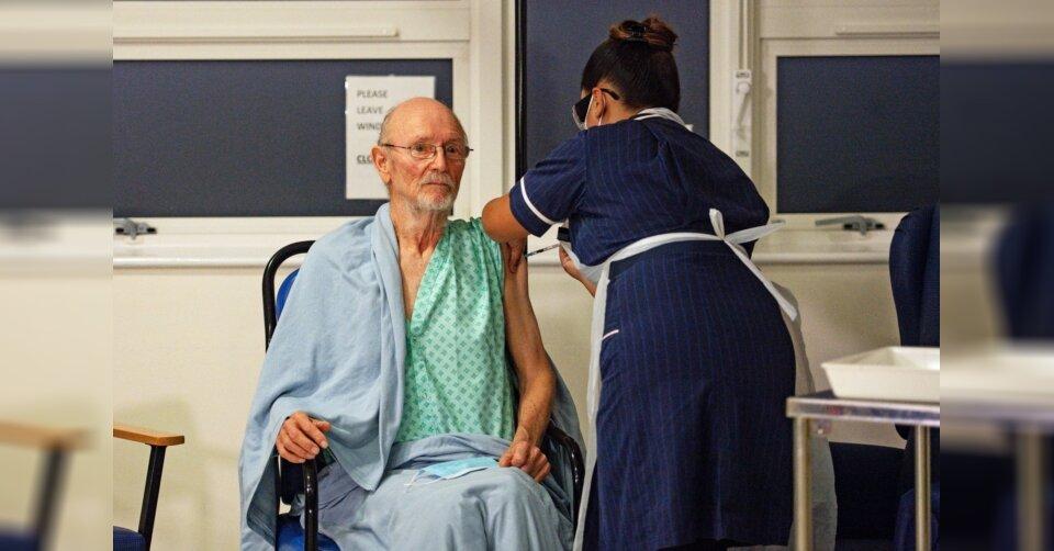 Erster Brite mit Corona-Impfung: William Shakespeare ist tot