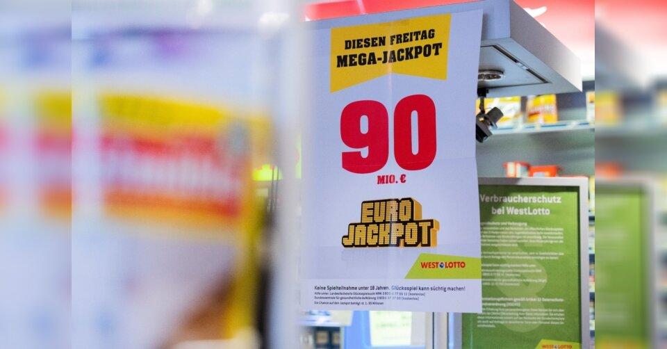 Eurojackpot mit 90 Millionen Euro geht nach Hessen