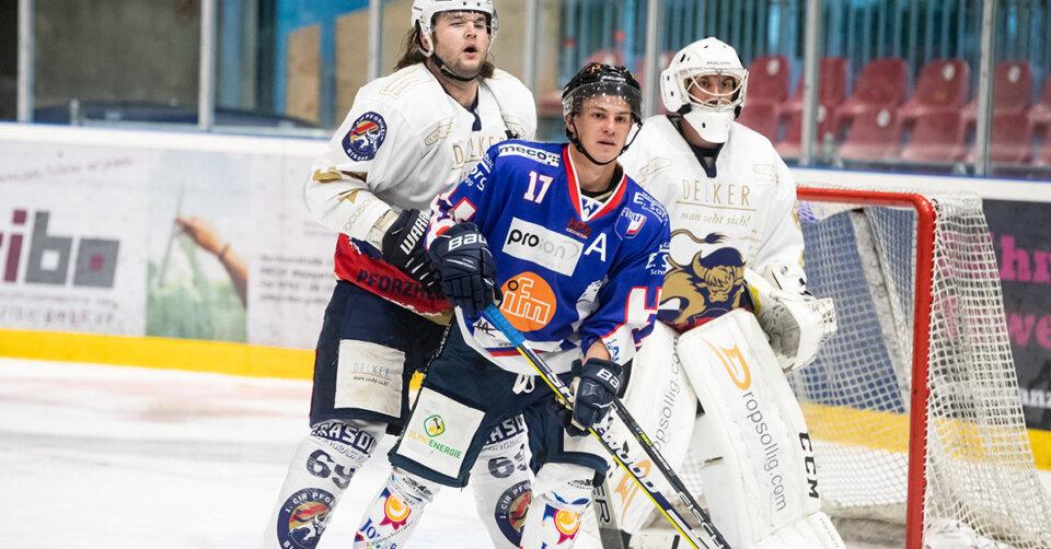 Eishockey-Regionalliga Südwest: EV Ravensburg überzeugt beim 2:1 gegen Burgau