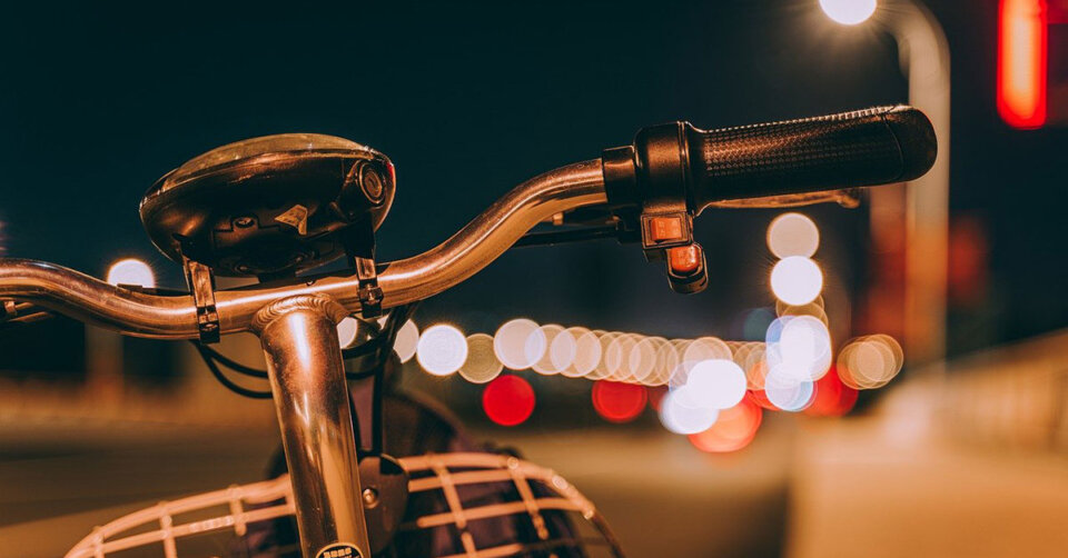 Radfahrer im Rausch