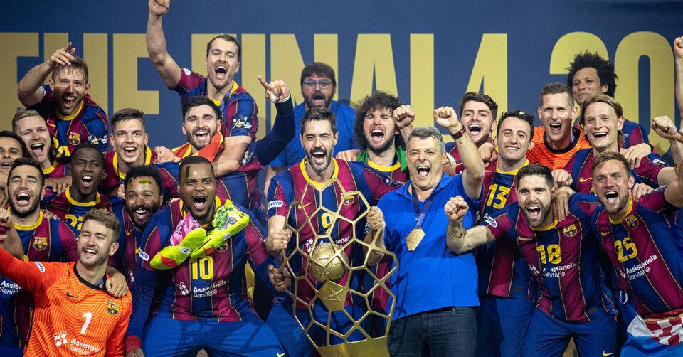 Die Handballer des FC Barcelona werden ihrer Favoritenrolle gerecht