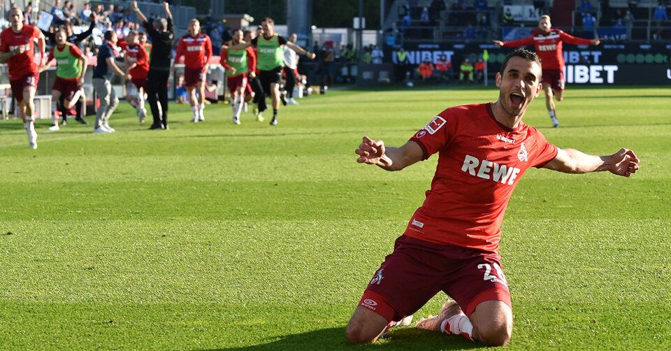 Der 1. FC Köln bleibt erstklassig