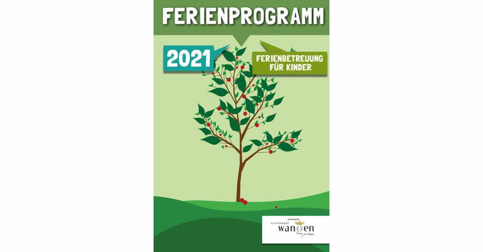 Das städtische Ferienprogrammheft 2021 steht nun als Online Version zur Verfügung.