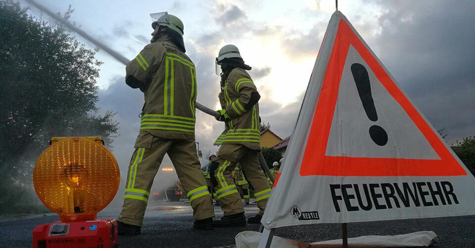 Wohnhausbrand fordert Todesopfer