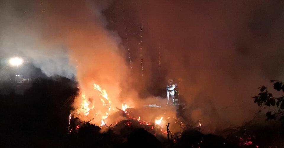 Kein ruhiges Wochenende für Lindauer Feuerwehr